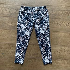 Sweaty Betty floral London leggings
